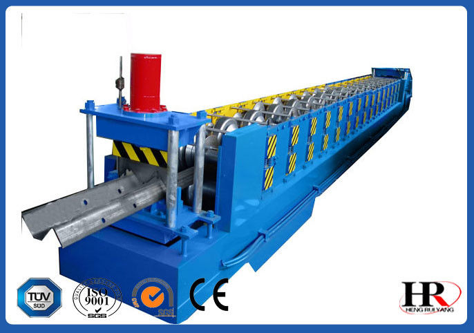 بزرگراه بزرگ Roadside W Beam Guardrail Roll Forming Machine تامین کننده
